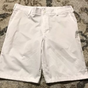 Men's white adidas golf pants size 32